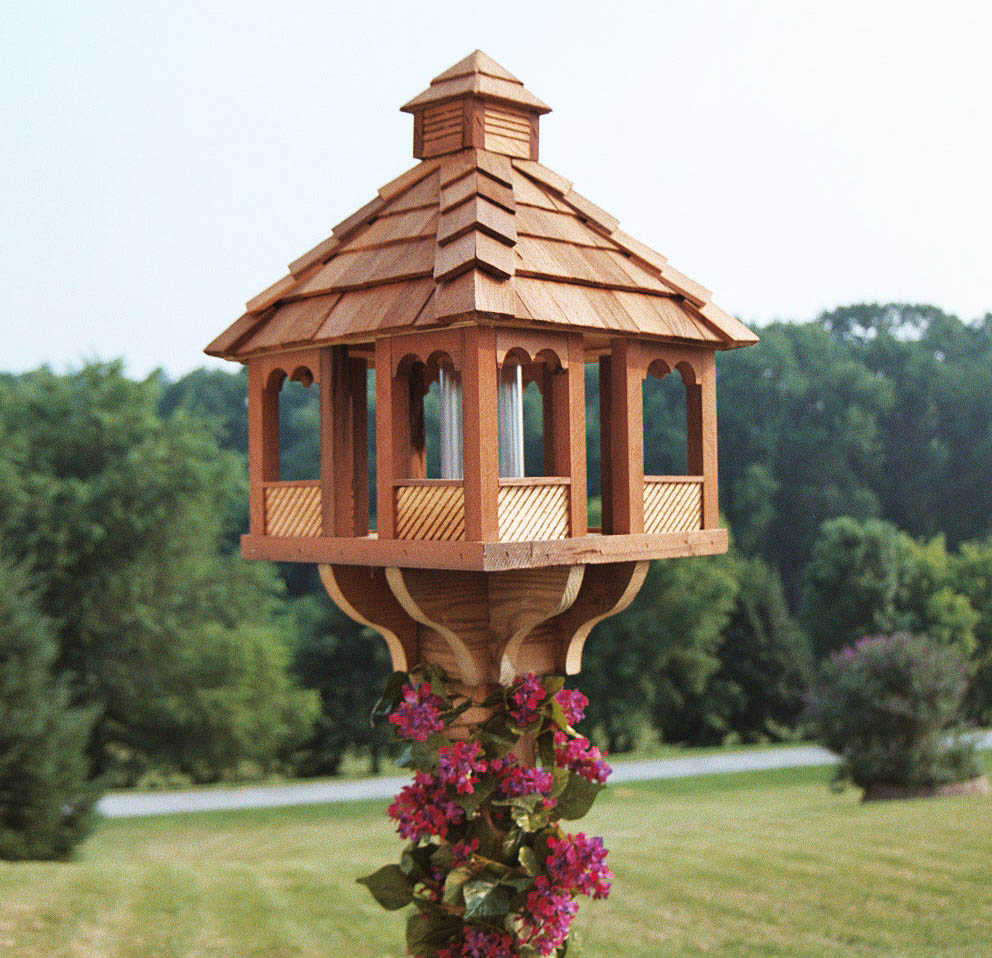 Amish Delights Hand Crafted Heirloom Quality Bird Feeders